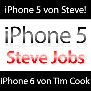 iPhone 5 bekam Segen von Steve Jobs, iPhone 6 von Tim Cook!