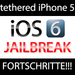 iOS 6 Jailbreak: iOS 6 Failbreak wird zum tethered iPhone 5 Jailbreak! tethered iphone 5 jailbreak 150x150