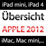 ÜBERSICHT: Alle neuen Apple Produkte!