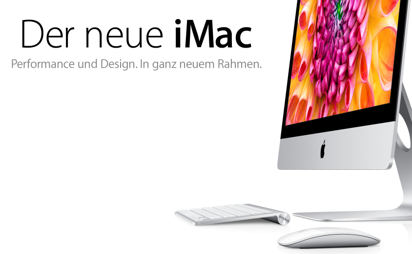 iMac 2012 ab 30.11. im Handel!