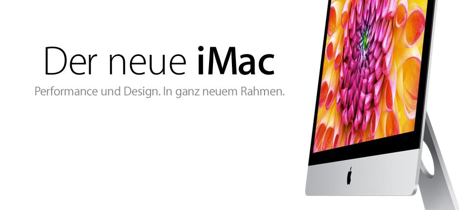 Der neue iMac 2012 ist DA! Fusion Drive für 250 EUR! 2