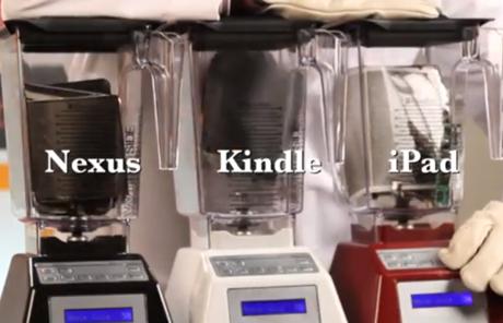 Will it Blend? iPad Mini vs. Kindle Fire HD vs. Nexus 7!