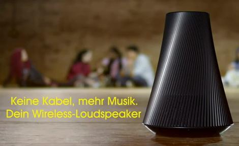 test sony sa ns510 kabelloser 360 grad design netzwerk lautsprecher airplay sound turbolader. Black Bedroom Furniture Sets. Home Design Ideas