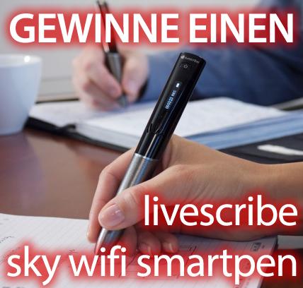 Gewinne einen Livescribe Sky Wifi Smartpen!
