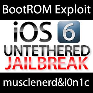 Musclenerd & i0n1c zum iOS 6 BootROM Exploit iPhone 5 iOS 6 Jailbreak!