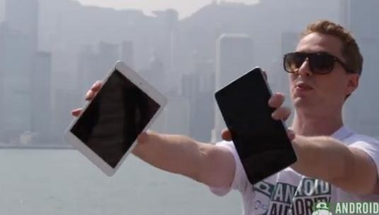 Android vs. Apple: Google Nexus 7 verliert Falltest gegen iPad mini 2