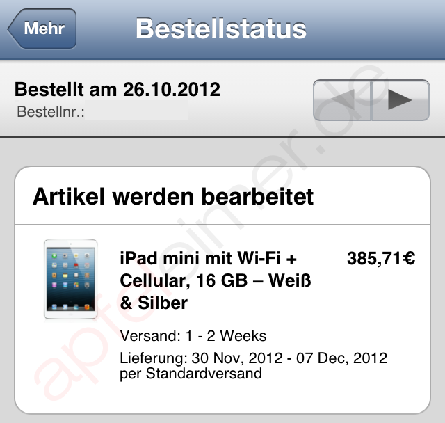 iPad mini Wifi+Cellular