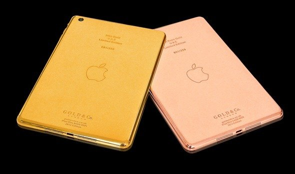 Apple iPad mini in Gold - 24 Karat iPad mini Sonderedition!  2