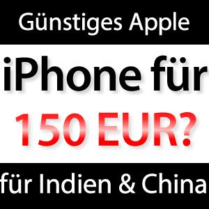 Billiges iPhone für 150 EUR 2014 erwartet?