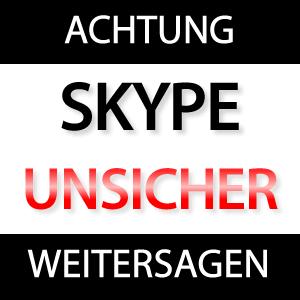 Achtung: Sicherheitsrisiko Skype!