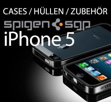 iPhone 5 Hüllen & Cases von Spigen SGP!