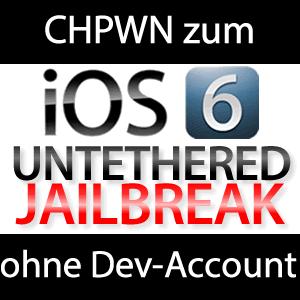 chpwn: Jailbreak ohne Dev-Account aber nur für Developer!