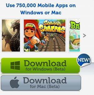 Android Apps auf Mac OS X und Windows