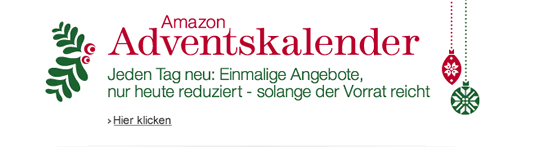 AMAZON ADVENTSKALENDER! advent