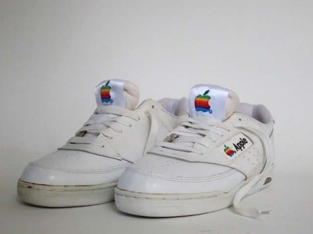Original Apple Sneakers: Oldschool Turnschuh weckt MUST HAVE Emotionen!   apple sneakers