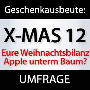 Umfrage: Apple Weihnachtsgeschenke?