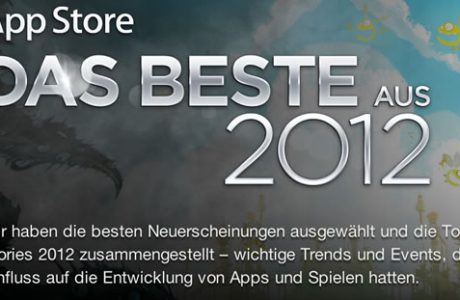 Beste Apple App Store Apps 2012!