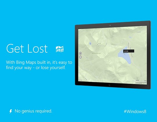 Get Lost Bing Anti Apple