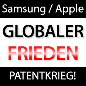 Samsung & Apple auf dem Weg zum Weltfrieden?