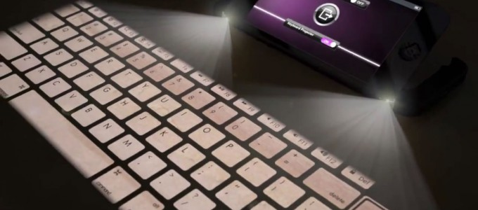 VIDEO: iPhone 5S mit Mac OS X Beamer & Laser Keyboard!
