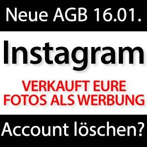 Neue Instagram AGB - Nur Account löschen hilft?!