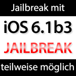 Jailbreak iOS 6.1 beta 3 für iPhone 4 möglich!