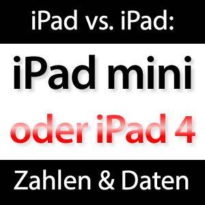 Retina iPad 4 oder iPad mini?