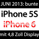 Apple iPhone 6 mit 4,8 Zoll Display, farbige iPhone 5S im Juni 2013 mit 128 GB! iphone 6 iphone 5S  150x150