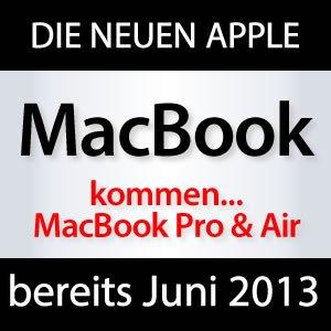 2013: neue MacBook Pro & Air