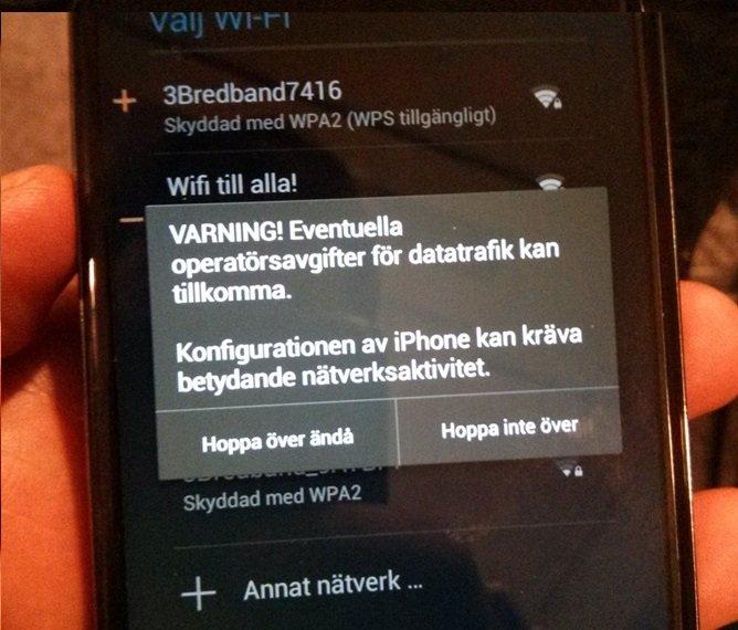 Nexus 4 iPhone