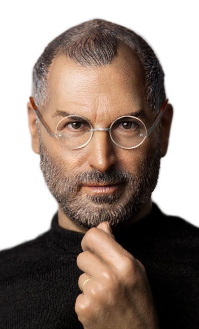 Steve Jobs Actionfigur!