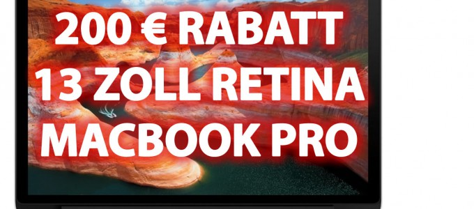 BILLIGER! Retina Macbook Pro 13 Zoll