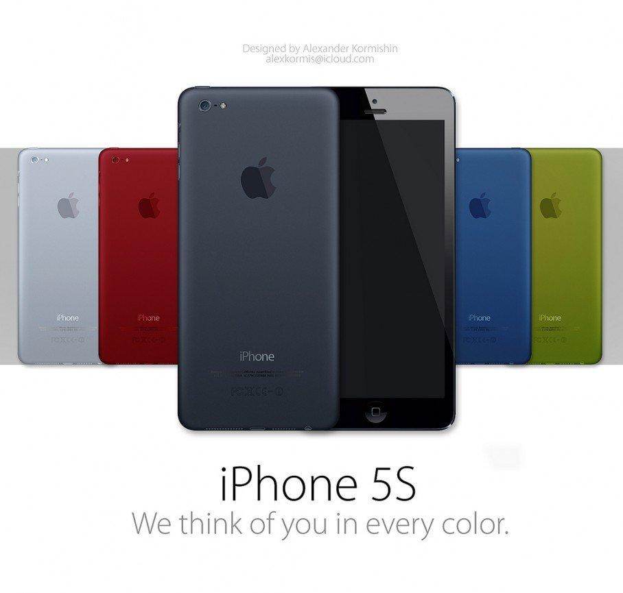 iphone 5s in farbe und bunt im ipad mini design. Black Bedroom Furniture Sets. Home Design Ideas
