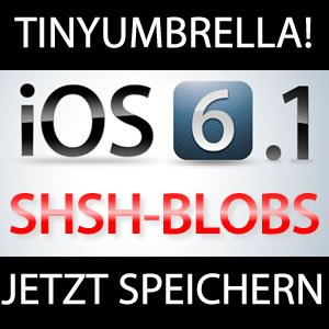 iOS 6 1 SHSH Blobs speichern - TinyUmbrella 6 10 02a Download