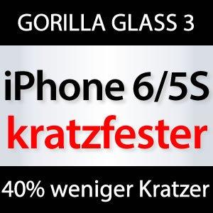 iPhone 5S / iPhone 6 weniger Kratzer!