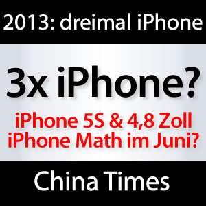 4,8 Zoll iPhone Math, iPhone 5S & 12 MP iPhone 6 in 2013?