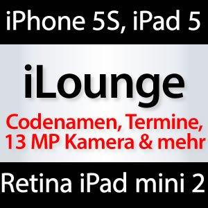 iPhone 5S im Juli, iPad 5 & Retina iPad mini im Oktober
