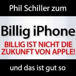 Kein Billig iPhone von Apple!