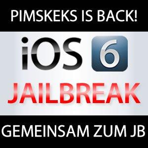 Pimskeks zurück im iOS 6 Jailbreak Business!