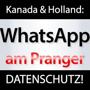 WhatsApp Datenschutz Kanada Private Daten!