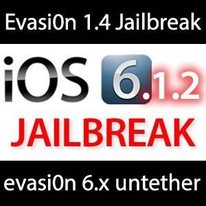 Evasi0n 1.4: iOS 6.1.2 Jailbreak