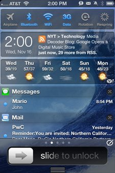 Cydia Jailbreak Tweaks: IntelliScreenX 6, MyWi 6.0 & Messages+ fertig für iOS 6 Jailbreak! intelliscreenx
