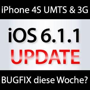 iOS 6.1.1 kommt diese Woche?