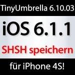 ios 6.1.1 TinyUmbrella 6.10.03a Update!