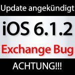 iOS 6.1.2: Jailbreak Ende dank Microsoft Exchange Bug? ios 6.1.2 update 150x150