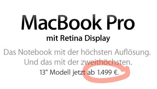 macbook pro preis