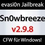 Download: Sn0wbreeze v2.9.8 iOS 6.x Custom Firmware Tool für Windows