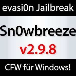 Download: Sn0wbreeze v2.9.8 iOS 6.x Custom Firmware Tool für Windows