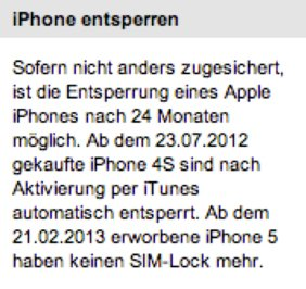 telekom iphone 5 simlock