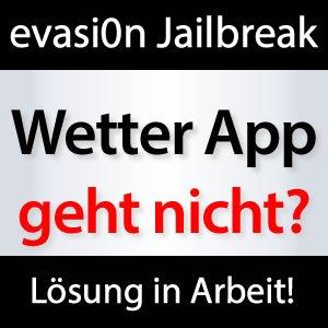Wetter App Iphone Geht Nicht